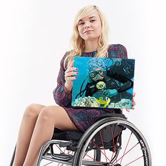 Kampania społeczna Niepełnosprawni - myśl pozytywnie