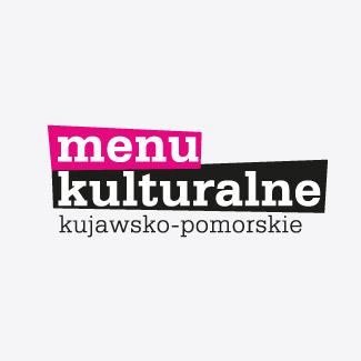 Logotyp Kujawsko-Pomorskiego Menu kulturalnego