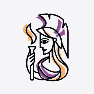 Logotyp, identyfikacja wizualna Stowarzyszenia Inicjatyw Kobiecych