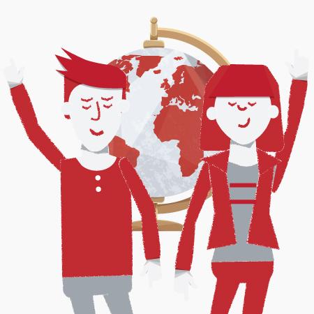 Animacja Do odważnych świat należy - Kampania Szwajcarsko-Polskiego Programu Wspólpracy